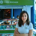Yves Rocher Portugal em Lisboa Loures Shopping. Inscrição e kit grátis. Zona de Lina Sousa, Chefe de Grupo Cristina Pais