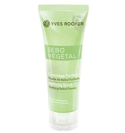 55300 Esfoliante Purificante Sebo Vegetal Yves Rocher