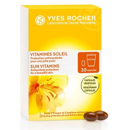 53098 vitaminas sol suplemento alimentar yves rocher