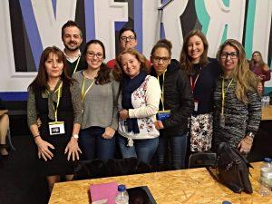 Chefes de Grupo Yves Rocher Portugal da Zona 15 de Lina de Sousa - Formação Digital Yves Rocher LXFactory Janeiro 2018