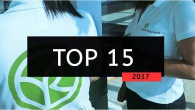 top 15 vendedores yves rocher 2017 equipa cristina pais