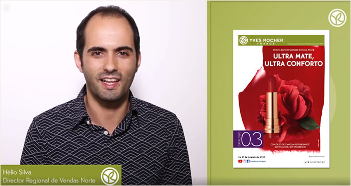 video apresentação catalogo 3 yves rocher 2018 helio silva site cristina pais chefe grupo