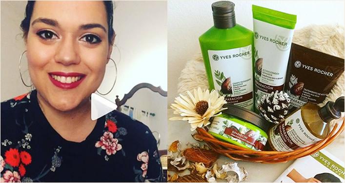 passatempo giveaway instagram cabelo cuidados capilares claudia barroso yves rocher portugal equipa cristina pais