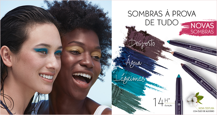 ombre lapis sombras olhos a prova de agua waterproof lifeproof yves rocher equipa cristina pais