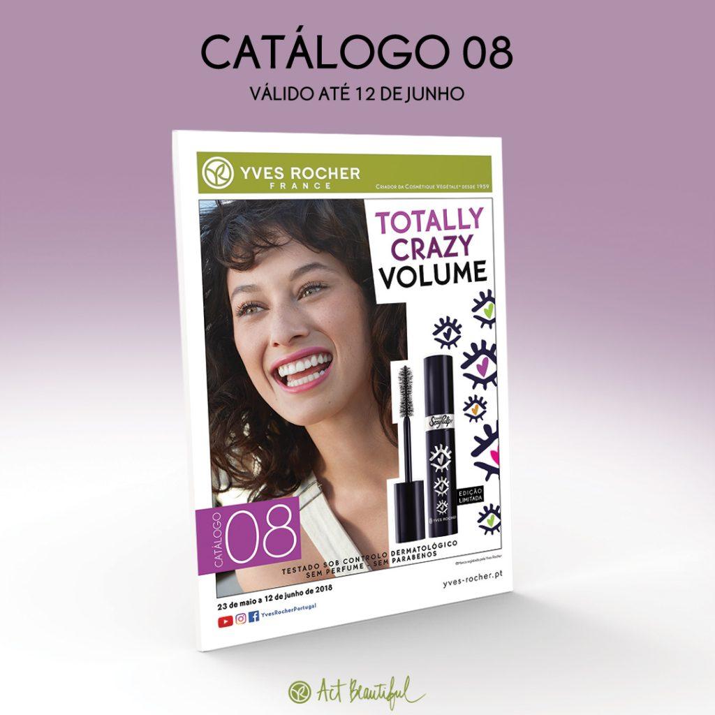 Catálogo 8 / 2018 Yves Rocher Portugal – Campanha em vigor entre 23 de Maio e 12 de Junho