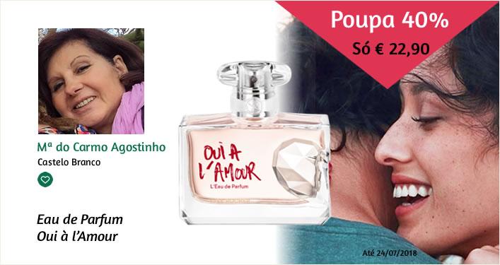 saldos yves rocher maria carmo agostinho perfume oui a l amour equipa cristina pais