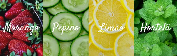 aguas detox receitas morango pepino limão hortela cristina pais yves rocher