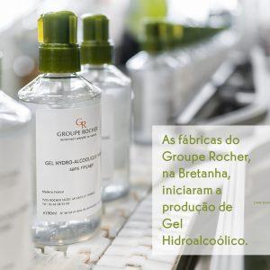 Gel Hidroalcoolico mãos Yves Rocher Coronavírus
