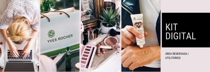 Utilizada as fotos, vídeos e stories do Kit Digital Yves Rocher nas tuas redes sociais e promove o teu negócio online